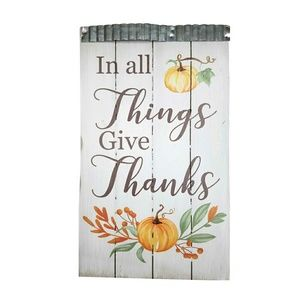 Other - In All Things Give Thanks Wall Sign